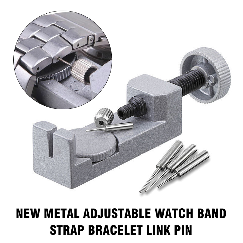 2019 Adjustable Watch Band Strap Bracelet Link Pin Remover Repair Tool Kit Combination Hand Tool Stainless Steel Kits Percision