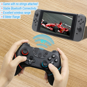 Image 2 - Bluetooth Wireless Game Controller Joystick For Nintendo Switch NS Pro Console Gamepad Joypad Android/ PC Accessories Controle