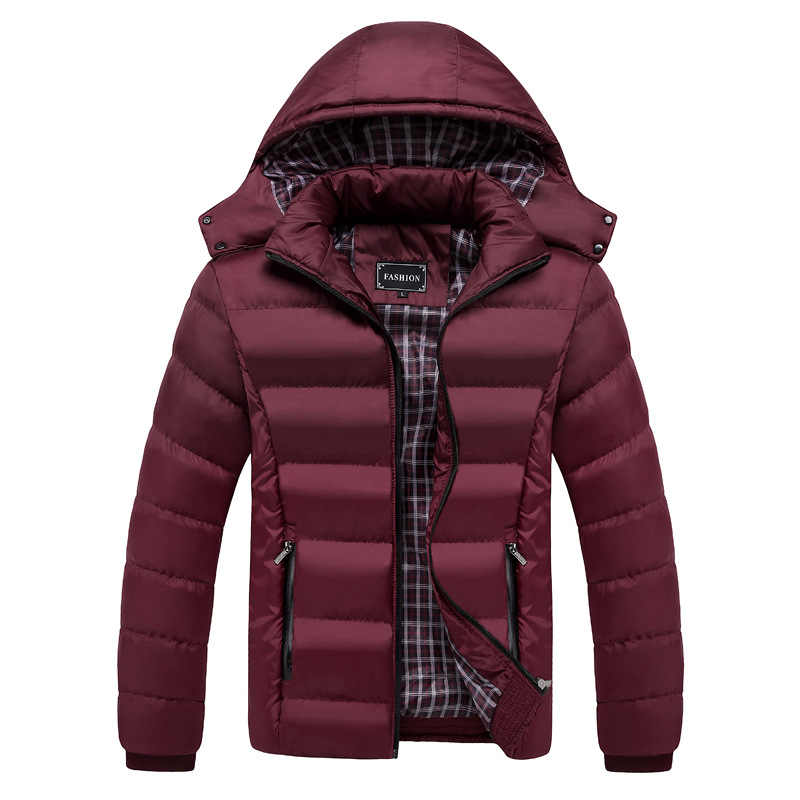 2019 new men's cotton coat cold big size Europe and America casual cotton clothes men's cotton clothe  MY137