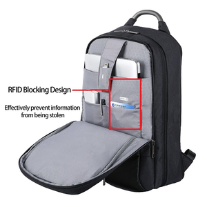 """Image 2 - 180° Patent Luggage Design Men Backpack Business Laptop Backpack Women Travel Bag 18"""" Expandable RFID Anti theft H6758"""