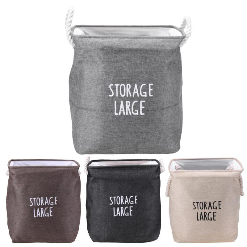 Simple Foldable EVA Laundry Organizer Storage Clothing Baby Toy Socks Container Bags Bathroom Washing Basket