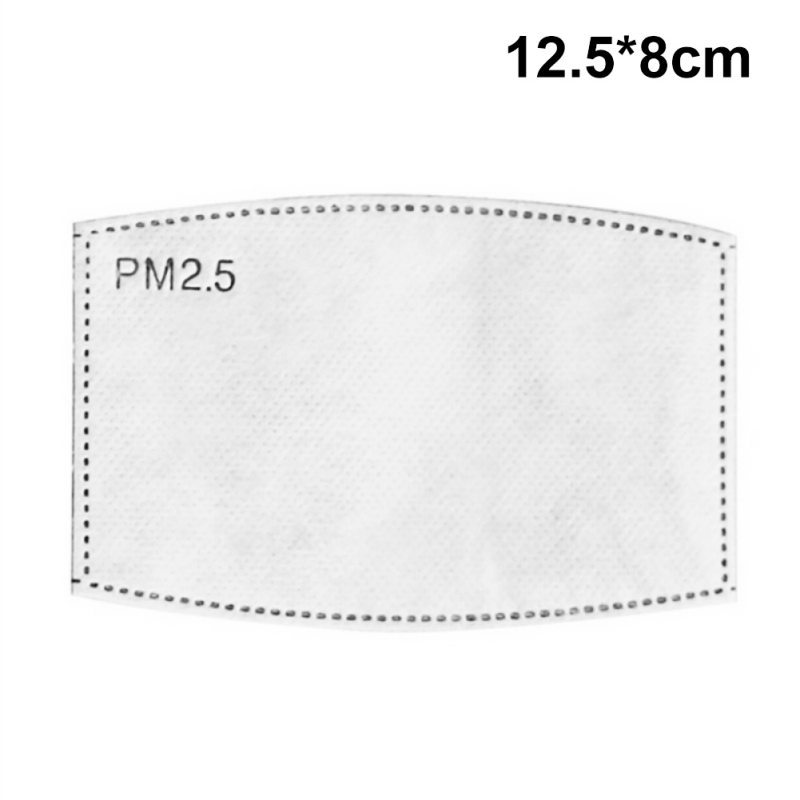 20 Pieces Face Protective Filters Activated Carbon Breathing Cotton PPE Supplies