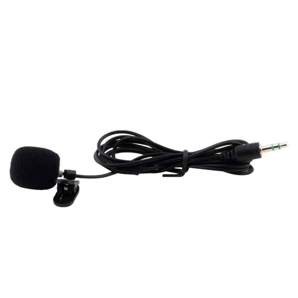 Przenośny Mini 3.5mm 30Hz-15000Hz Tie Lapel Lavalier klip mikrofon na wykłady lekcje nauczania edukacja