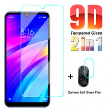 9D Protection Glass For Xiaomi Redmi 7 7A K30 Pro K30i Camera Lens Tempered Screen Protector Redmi Note 7 Pro Safety Glass Film