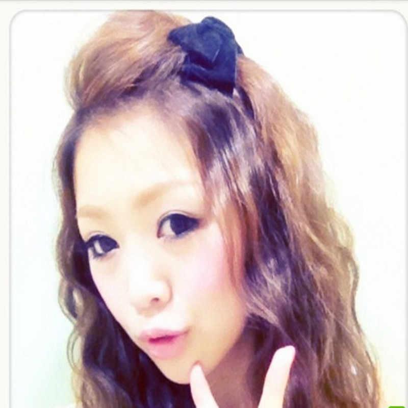 2 Tingkat Busur Rambut Klip Korea Vintage Beludru Busur Jepit Rambut Ekor Kuda Klip Hairgrips untuk Wanita Wanita Poni Aksesoris