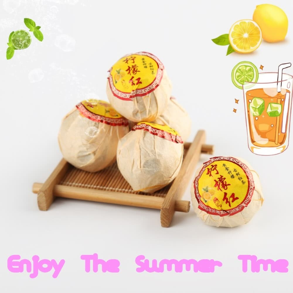 Fruit Tea Black Tea Lemon Black Tea Lemon Yunnan Yunnan Red Summer Drinks 250 G Package Mail