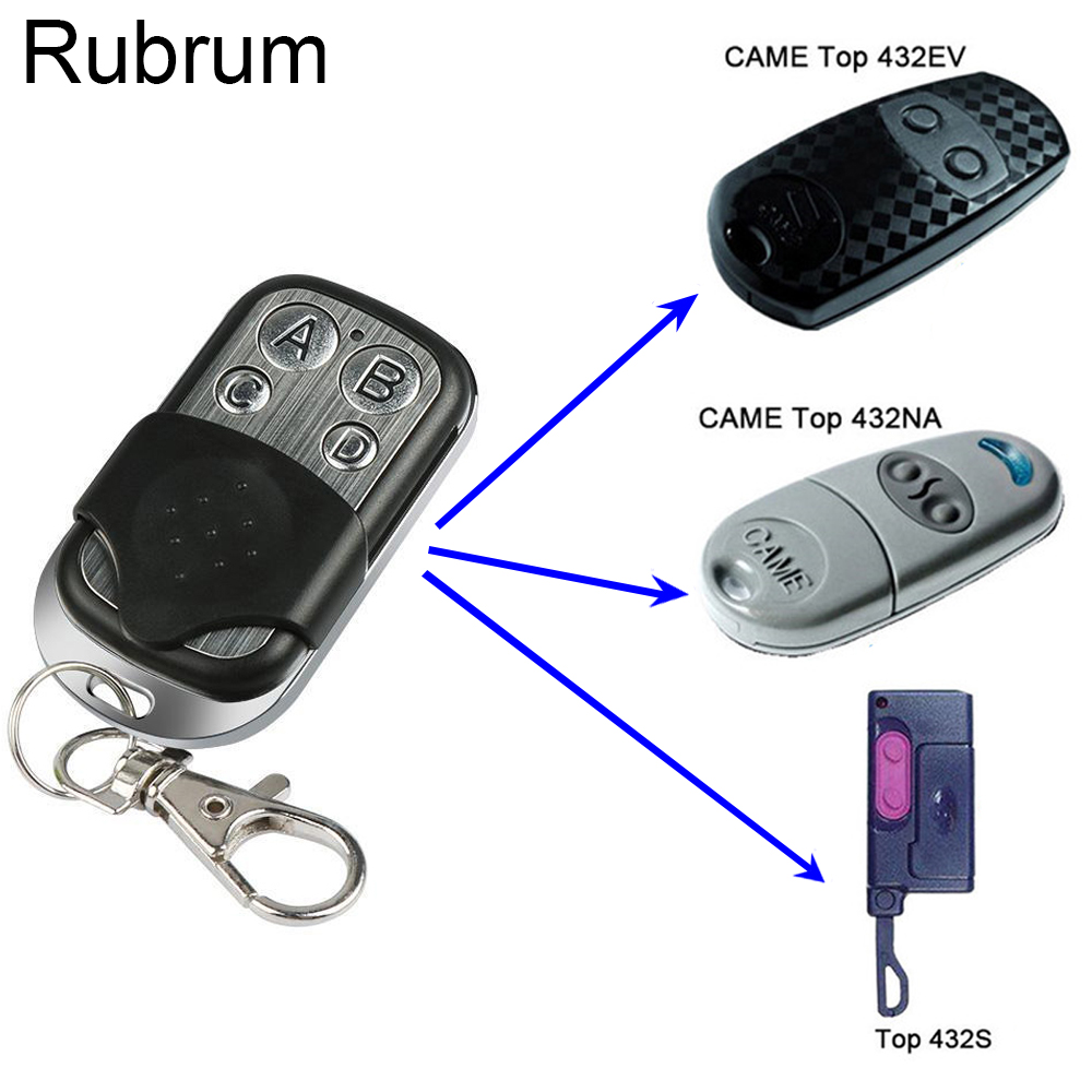 Rubrum 433.92MHZ Copy <font><b>Remote</b></font> Controller Universal Duplicator For Home Electric <font><b>Garage</b></font> Door Gate Car <font><b>Remote</b></font> Clone 433 MHz <font><b>Key</b></font> Fob image