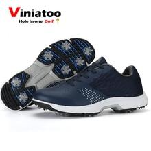 Golf Sneakers Spikes Comfortable Waterproof Mens New Professional Outdoor
