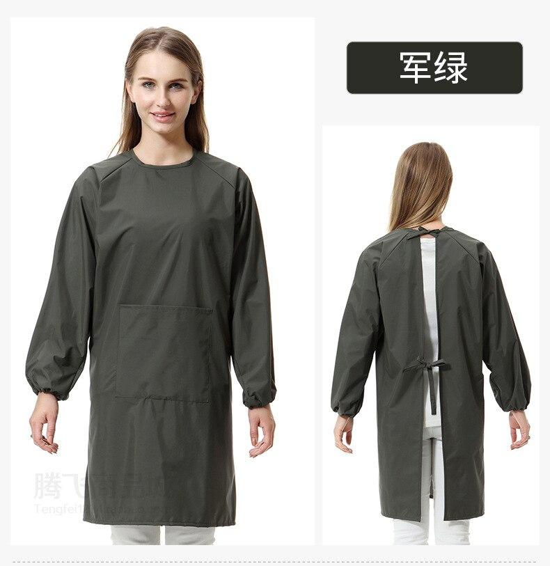 Ev ve Bahçe'ten Kol Kılıfları'de Yetişkin Anti aşınma kıyafetler iş elbiseleri yeni stil suya dayanıklı Anti mutfak kollu önlük title=