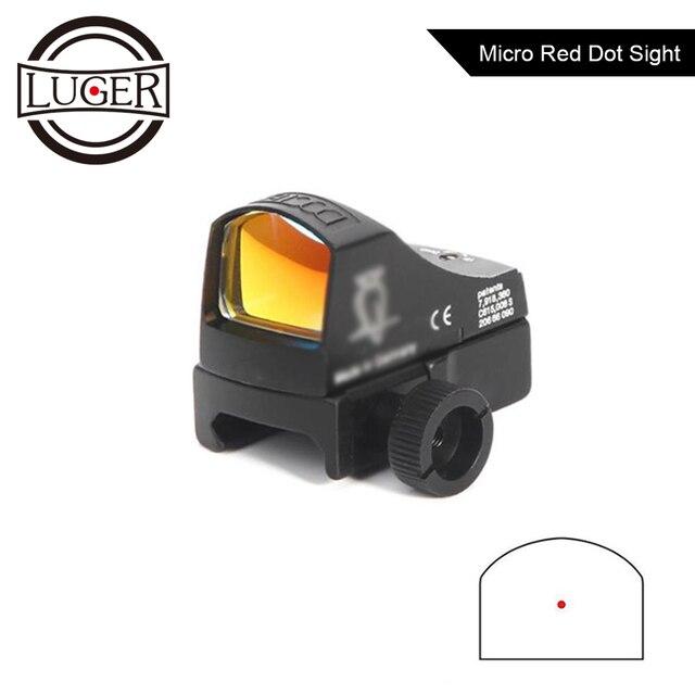 Red Dot Portata del Fucile Micro Dot Reflex Olografica Portata Del Fucile Tattico Ottica Sight Airsoft del Fucile di Mini Caccia Cannocchiale Aimpoint Store
