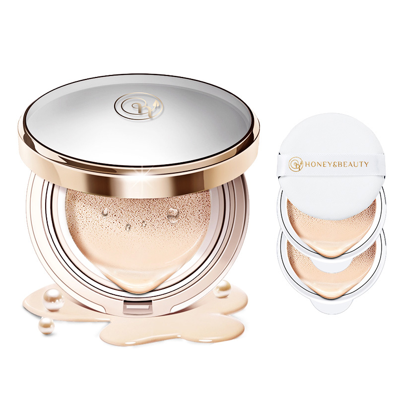 Natural Air Cushion BB CC Cream Concealer Isolation Moisturizing Foundation Whitening Makeup Bare For Face Beauty Makeup