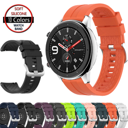 Strap for Huami Amazfit GTR 47MM Bracelet Band Silicone Sport Replacement Wristband for Xiaomi Huami Amazfit Pace/Stratos 2 2s