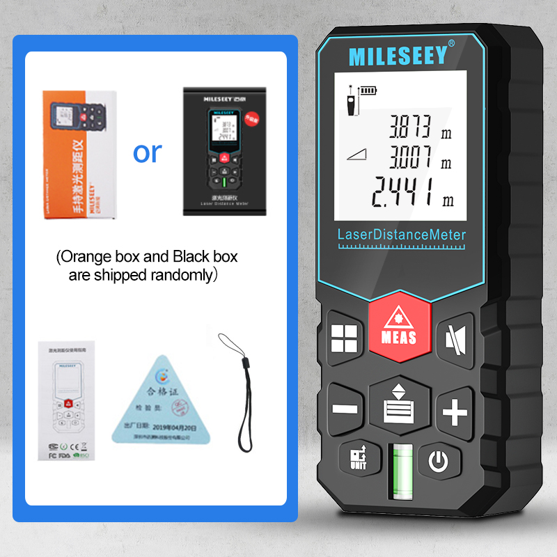 Купить mileseey x5 лазерный дальномер medidor лазерная профессиональный