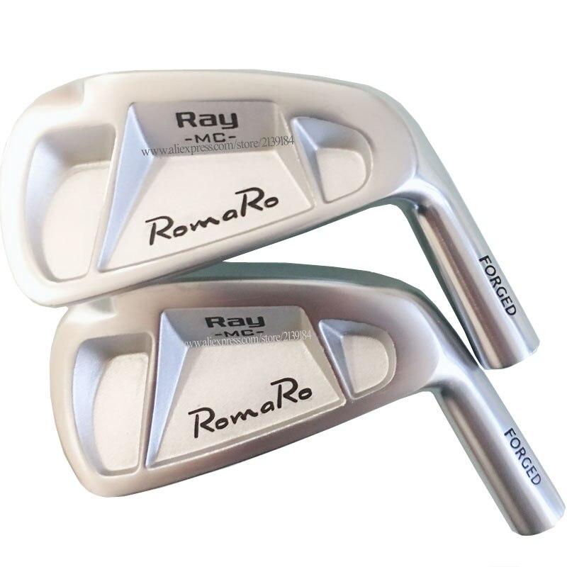 Nouveau hommes Clubs Golf tête ROMARO RAY MC fer doux fers de Golf 4-9 p clubs tête pas de Golf fers arbre Cooyute livraison gratuite