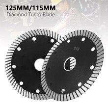Алмаз горячий отжатый супертонкие лезвия Turbo керамическая плитка Гранит режущий диск лезвие 4.5 5