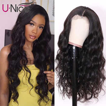 UNice Hair 13X4/6 Transparent Lace Wigs With Baby Hair Body Wave Invisible Lace Front Human Hair Wigs Pre-Plucked Lace Wigs - DISCOUNT ITEM  35% OFF All Category