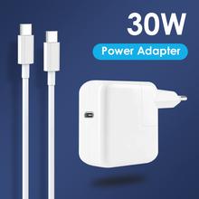 NORTHJO 30W USB C PD ładowarka do laptopa zasilacz z kablem ładującym typu C dla MacBook 12 nowe powietrze 13 cali 2018 2020 US UK ue tanie tanio CN (pochodzenie) 20 v 1 5A