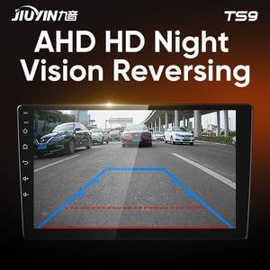 Image 4 - JIUYIN Typ C Auto Radio Multimedia Video Player Navigation GPS Für Hyundai Santa Fe 3 2013   2017 Android Keine 2din 2 din