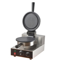 Fy-190 Stainless Steel Electric Pizza Bowl Waffle Machine With Timer Non-Stick Coating Waffle Baker