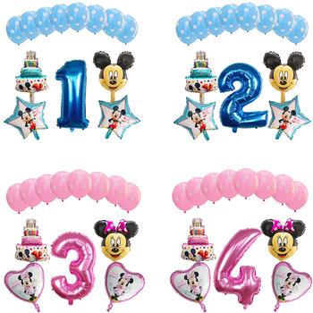 13 sztuk zestaw Mickey Minnie z balonów foliowych 1 Dekoracja urodzinowa numer Ballon 1 Globos Dot lateksowe nadmuchiwane zabawki dla dzieci tanie i dobre opinie Mtrong Te PENTAGRAM Taśmy ROUND 9852 Folia aluminiowa Birthday party Chiński nowy rok Ślub i Zaręczyny Walentynki Wielkie Wydarzenie