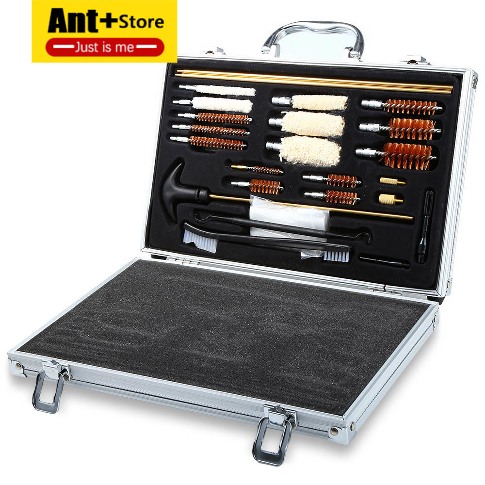 Gun brush tool hunting accessories universal gun cleaning kit for rifle pistol shotgun professional gun cleaning kit