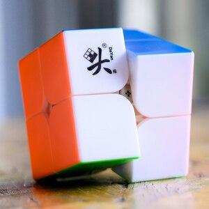 Image 3 - Dayan 2X2X2 Tengyun M Magnetische Magische Kubus 2X2 Cubo Magico Educatief Speelgoed Kampioen Concurrentie professionele Kubus Speelgoed