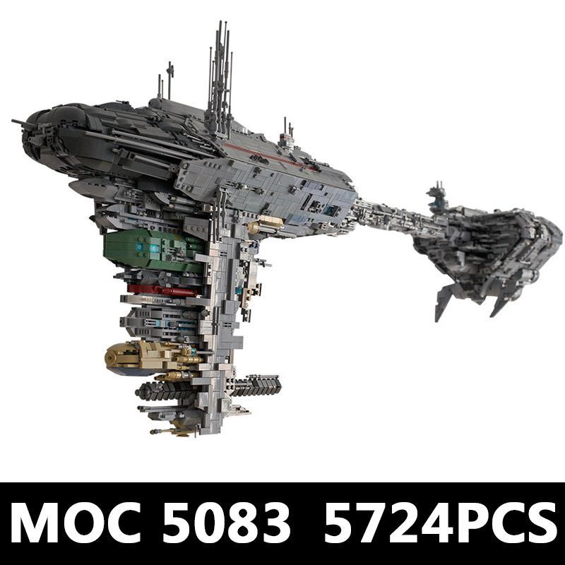 The MOC 5083 UCS Nebulon-B Medical Frigate Model Compatible Legoing Star Toys Wars Building Blocks Bricks As Kids Christmas Gift 2