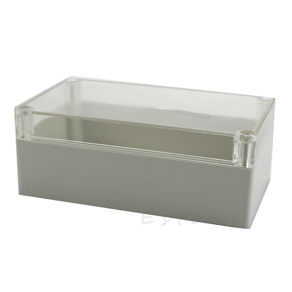 Clear Electronic Waterproof Project Box Enclosure Plastic Cover Case 158x90x60mm