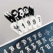 XMQ Steel Nail Art Stamping Plates Template Snak Image Plate Leaves Flowers Design Nail Printing Tools 6*12cm XMQ Steel Nail Art