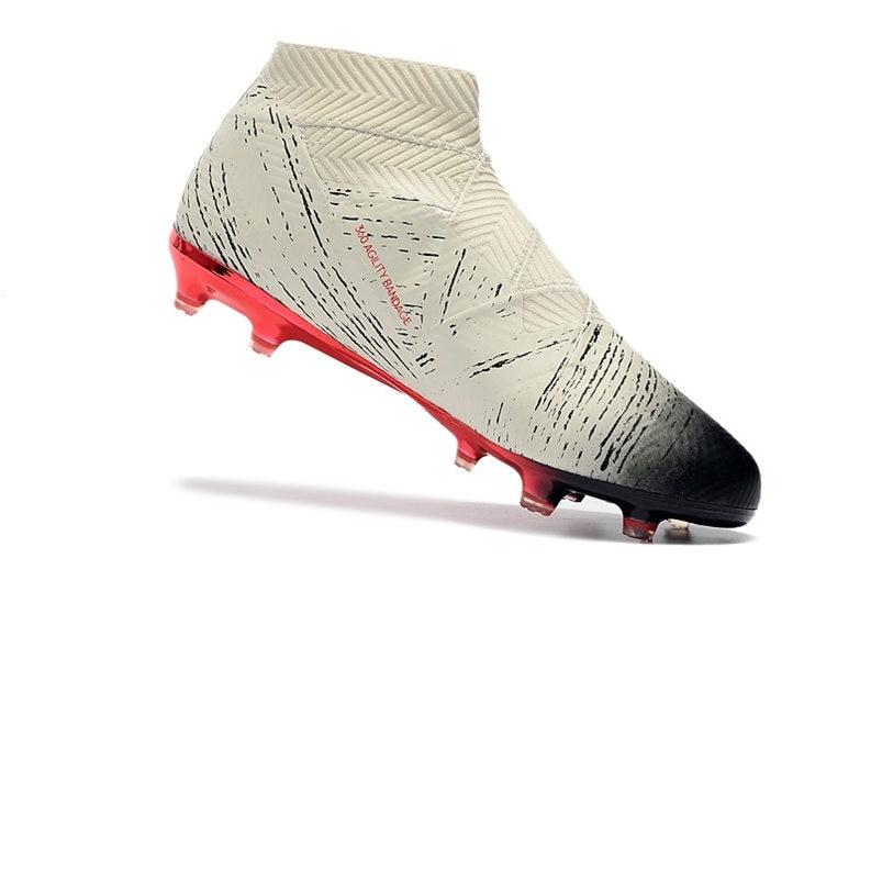 New Cheap Nemeziz 18+ FG Soccer Shoes High Ankle Football Boots
