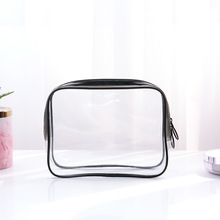 Multifunction Stereoscopic 1 Pc Transparent Cosmetic Bag PVC Travel Organizer Zipper Clear Waterproof Women