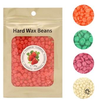 25g/Bag Wax beans No Strip Depilatory Hot Film Hard Wax Pellet Waxing Bikini Face Legs Body Hair Removal Bean For Women Men