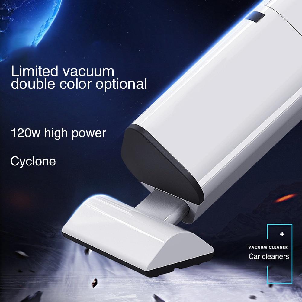 Aspirateur sans fil automobile 12V haute puissance 120W véhicule double usage aspirateur de voiture Mini aspirateur 8001