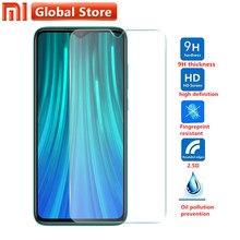 2 個強化ガラス Xiaomi Redmi 注 8 Pro のスクリーンプロテクター保護ガラス Redmi 注 8 Pro のガラス
