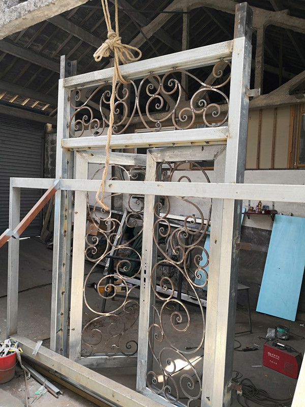 Shanghai Hench Brand China Factory 100% Custom Made Sale Australia Front Door Entry Gates