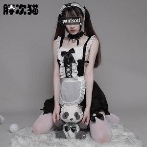 Image 4 - Disfraz de camarera para mujer, traje de camarera para Cosplay, Sexy, para Halloween, disfraz de camarera para adulto y mujer, disfraz escolar