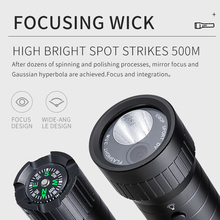 Bicycle flashlight camera Waterproof Action Camera bullet for bike bicycle gun helmet with box compass and SOS field survival