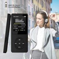 2020 mode Tragbare MP3 MP4 Player LCD Screen FM Radio Video Games Film Bunte mini USB Hallo Fi Music Player unterstützung Sd-karte