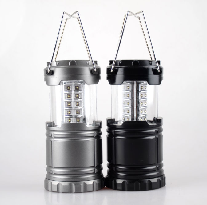 30 LED Camping Light Collapsible lantern for Hiking Campings Led Light High Power Portable Lantern