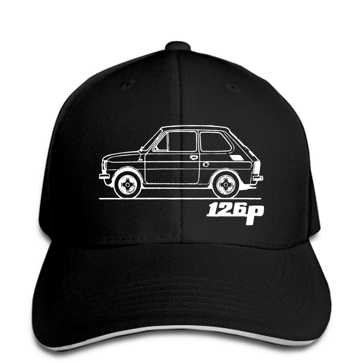 Czapka z daszkiem FIAT 126p centoventisei maluch polski włoski kapelusz czapka z daszkiem