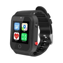 Reloj inteligente Android con cámara GPS navegación de posición WIFI reloj pulsera inteligente inalámbrico hombres reloj con tarjeta SIM teléfono