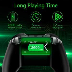 Image 5 - 2 stücke 2600mAh Batterie für Xbox One / Xbox One S/Xbox One X/Xbox Serie X/S Elite Wireless Controller Gamepads + LCD USB Ladegerät