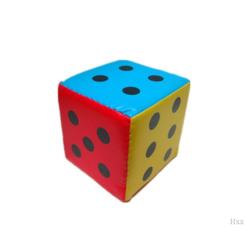 New 20/12cm Super Large Dice Colorful Six Sided Sponge Party Game Props Teaching Aid