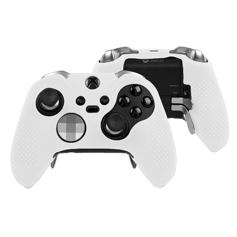 High Quality Non-slip Silicone Skin For Microsoft Xbox One Elite Controller Case Grip Rubber Cover Protector  Game Accessories