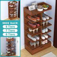 Fashion Shoe Cabinets Simple Household Economical Dust proof Multi storey Space Doorway Rack Large Capacity Storage