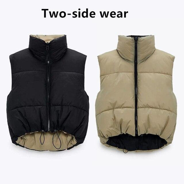 Winter Parka Coat Women's Jacket Thick Warm Women Fashion Black PU Leather Coats Women Elegant Zipper Faux Leather Jackets Tops 6