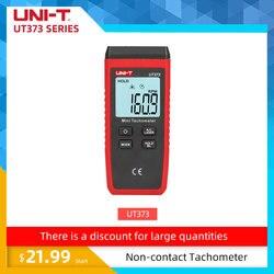 UNI-T UT373 Mini Digital Laser Tachometer Non-Contact Tachometer Measuring Range:10-99999RPM Tachometer Odometer Km/h Backlight