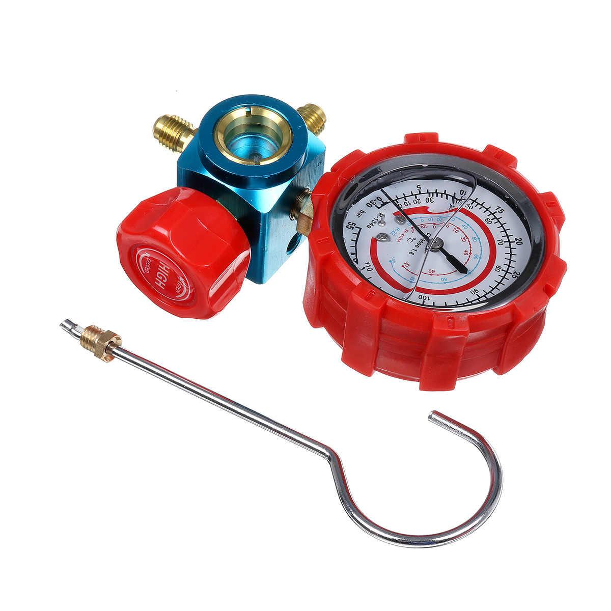 Air Conditioner Refrigerant Meter Manifold Digital Pressure Gauge 410*R22*R12*R134 Refrigerant Filling Device High-precision