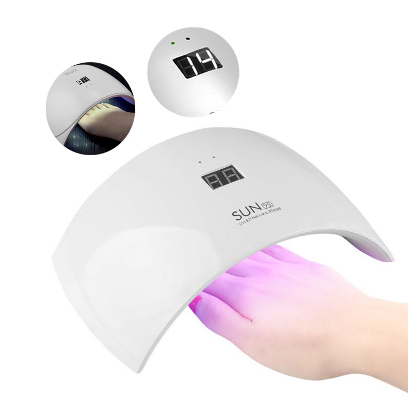 Upgraded 30W Sun 9S UV Nail Lamp Gel Polish Dryer Nailpolish Curing Light Electric Nail Dryer LED Nail Art Lamp