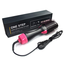 Hot Hair Brush Hair Dryer Straightener One Step Blow Curler Brushes Professional Curling Comb Hair Dryer Brush Dropshipping